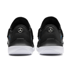 Thumbnail 3 of Mercedes AMG Petronas Evo Cat Racer Men's Trainers, Puma Black-Puma Black, medium