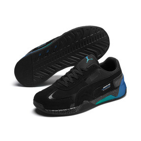 Thumbnail 3 of Mercedes AMG Petronas Speed HYBRID Men's Trainers, Blk-spctra grn-indigo bnting, medium