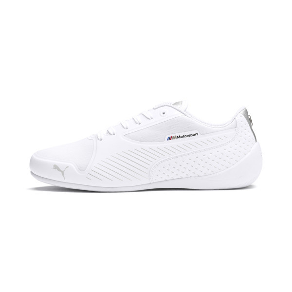 BMW M Motorsport Drift Cat 7 Ultra Trainers, Puma White-Puma Silver, large