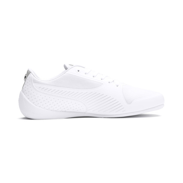 BMW MMS Drift Cat 7 Ultra Shoes, Puma White-Puma Silver, large