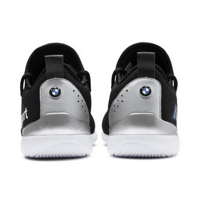 Thumbnail 4 of BMW M Motorsport Evo Cat Racer Men's Trainers, Puma Black-Puma Silver, medium