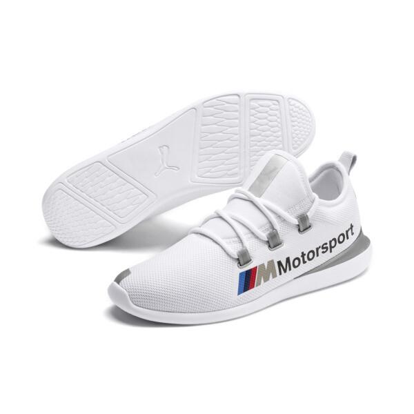 Zapatillas de hombre Evo Cat Racer BMW M Motorsport, Puma White-Puma Silver, grande