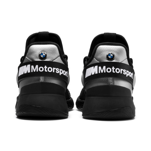 BMW M Motorsport HYBRID Men's Trainers, Black-Puma Silver- White, large