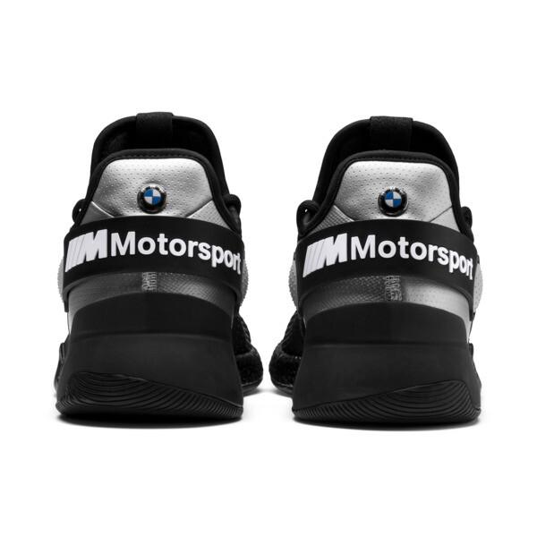 BMW M Motorsport HYBRID Herren Sneaker, Black-Puma Silver- White, large