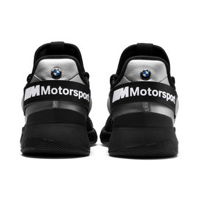 Thumbnail 4 of BMW M Motorsport HYBRID Men's Running Shoes, Black-Puma Silver- White, medium