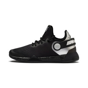 Thumbnail 1 of BMW M Motorsport HYBRID Men's Running Shoes, Black-Puma Silver- White, medium