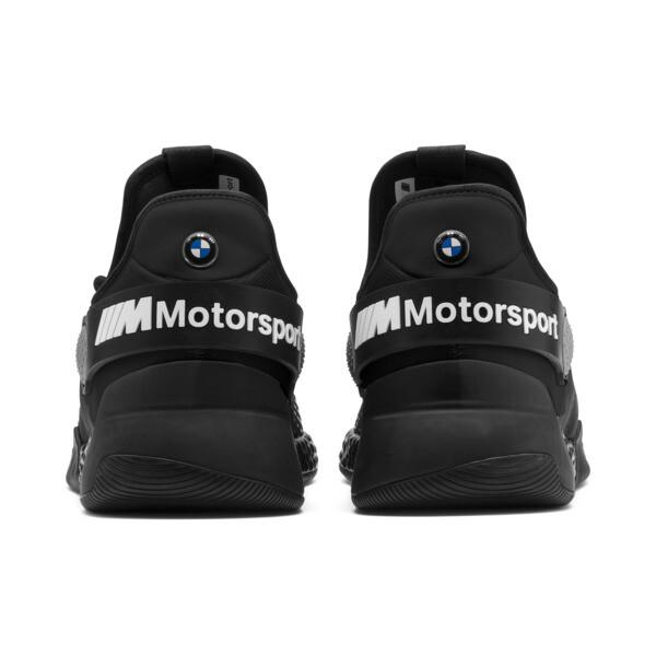 BMW M Motorsport HYBRID Men's Trainers, Black-Black-White, large