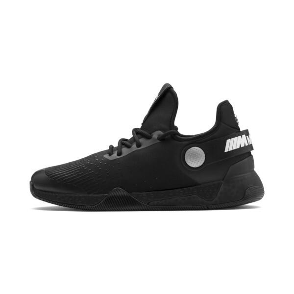 BMW M Motorsport HYBRID Men's Running Shoes, Black-Black-White, large