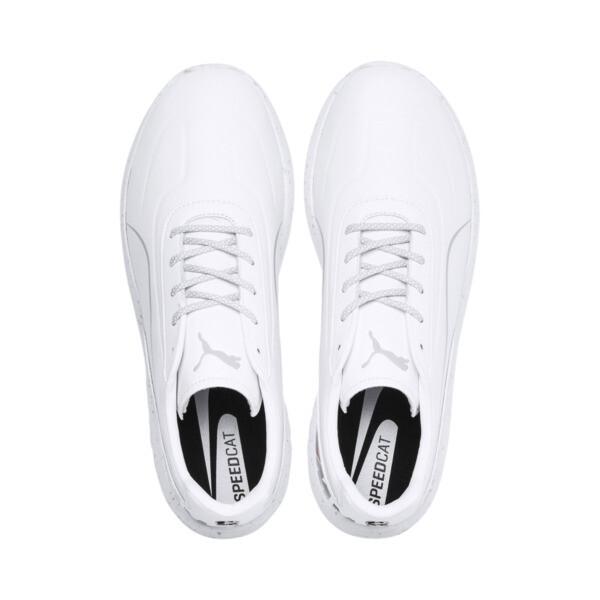 BMW M Motorsport Speedcat Evo Shoes, Puma White-Puma White, large