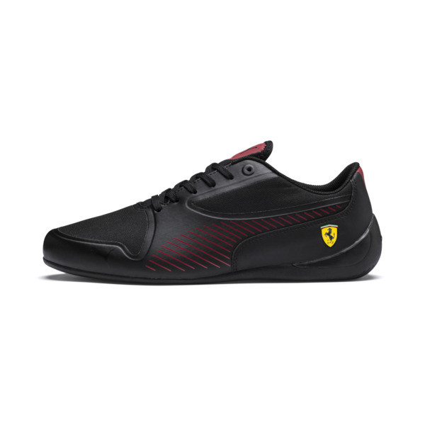 Ferrari Drift Cat 7 Ultra Trainers, Puma Black-Rosso Corsa, large