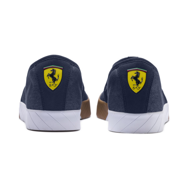 Scuderia Ferrari Men's Slip-On Track Shoes, Peacoat-Peacoat, large