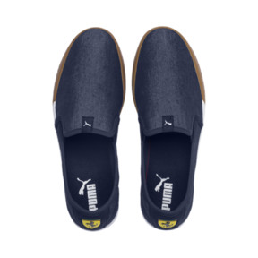 Thumbnail 6 of Scuderia Ferrari Men's Slip-On Track Shoes, Peacoat-Peacoat, medium