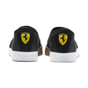 Thumbnail 3 of Scuderia Ferrari Men's Slip-On Track Shoes, Puma Black-Puma Black, medium