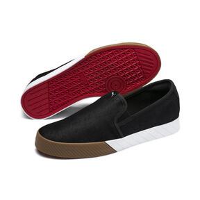 Thumbnail 5 of Scuderia Ferrari Men's Slip-On Track Shoes, Puma Black-Puma Black, medium