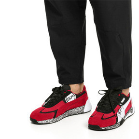 Thumbnail 2 of Ferrari Speed HYBRID Men's Trainers, Rosso Corsa-White-Black, medium
