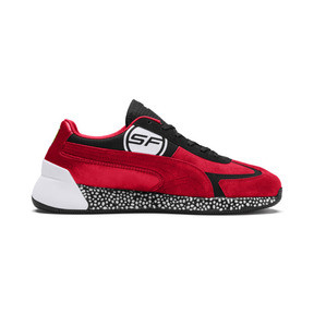 Thumbnail 6 of Ferrari Speed HYBRID Men's Trainers, Rosso Corsa-White-Black, medium