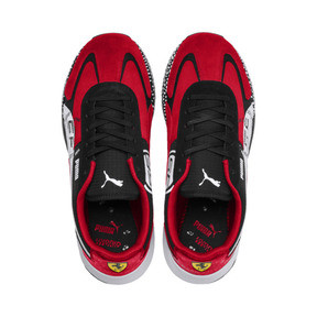 Thumbnail 7 of Ferrari Speed HYBRID Men's Trainers, Rosso Corsa-White-Black, medium