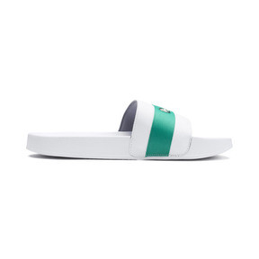 Thumbnail 5 of MAPM Leadcat Slides, Puma White-Spectra Green, medium