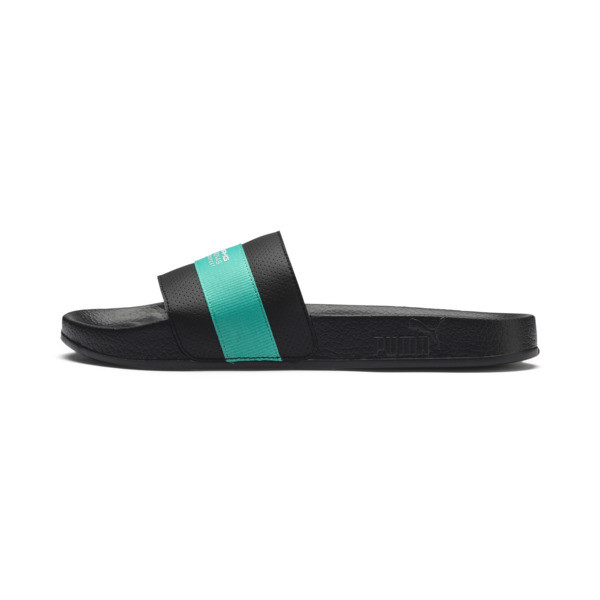 MAPM Leadcat Slides, Puma Black-Spectra Green, large