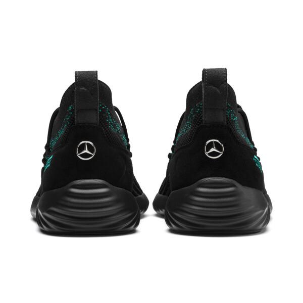 Mercedes AMG Petronas SpeedCat FUSEFIT Trainers, Puma Black-Spectra Green-Blk, large