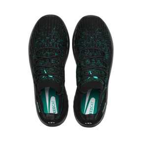 Thumbnail 6 of Mercedes AMG Petronas SpeedCat FUSEFIT Trainers, Puma Black-Spectra Green-Blk, medium