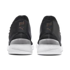 Thumbnail 3 of Basket Porsche Design Hybrid evoKNIT pour homme, Jet Black-Puma White, medium