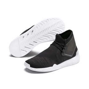 Thumbnail 2 of Basket Porsche Design Hybrid evoKNIT pour homme, Jet Black-Puma White, medium