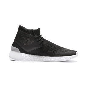 Thumbnail 5 of Basket Porsche Design Hybrid evoKNIT pour homme, Jet Black-Puma White, medium