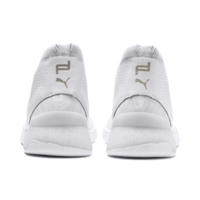 Thumbnail 3 of Porsche Design HYBRID evoKNIT Men's Running Shoes, Puma White-Puma White, medium