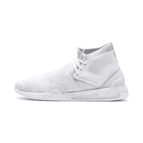 Thumbnail 1 of Porsche Design HYBRID evoKNIT Men's Running Shoes, Puma White-Puma White, medium