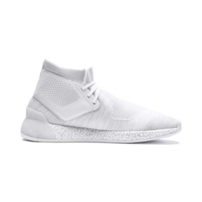 Thumbnail 5 of Porsche Design HYBRID evoKNIT Men's Running Shoes, Puma White-Puma White, medium