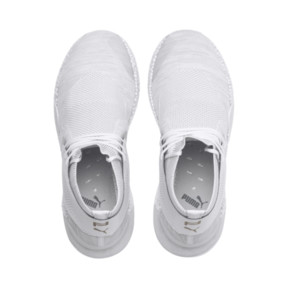 Thumbnail 6 of Porsche Design HYBRID evoKNIT Men's Running Shoes, Puma White-Puma White, medium