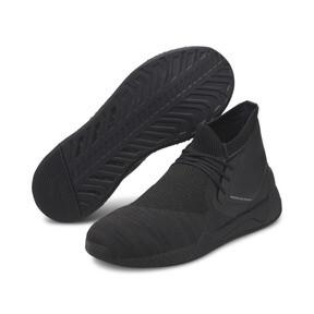 Thumbnail 2 of Porsche Design HYBRID evoKNIT Men's Running Shoes, Jet Black-Jet Black-JetBlack, medium