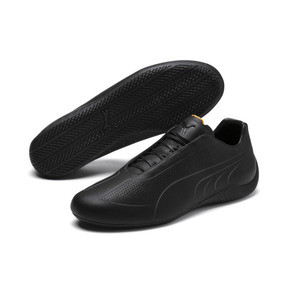 Thumbnail 2 of Porsche Design SpeedCat Lux Men's Trainers, Jet Black-OrangePop-JetBlack, medium