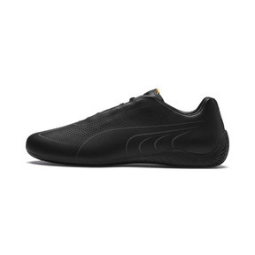 Thumbnail 1 of Porsche Design SpeedCat Lux Men's Trainers, Jet Black-OrangePop-JetBlack, medium
