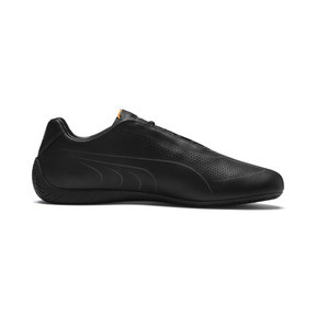 Thumbnail 5 of Porsche Design SpeedCat Lux Men's Trainers, Jet Black-OrangePop-JetBlack, medium