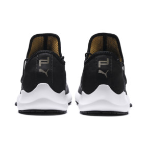 Thumbnail 3 of Porsche Design Evo Cat II Men's Trainers, Jet Black-Smoked Pearl-White, medium