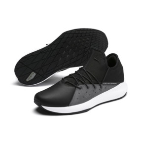 Thumbnail 2 of Porsche Design Evo Cat II Men's Trainers, Jet Black-Smoked Pearl-White, medium