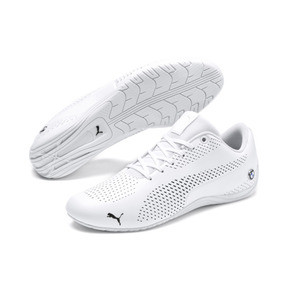 Thumbnail 2 of BMW MMS Drift Cat 5 Ultra II Men's Shoes, Puma White-Puma Black, medium