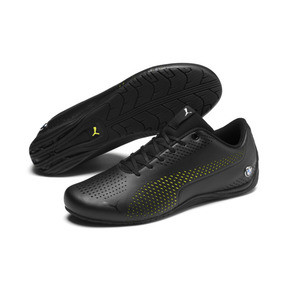 Thumbnail 3 of BMW M Motorsport Drift Cat Ultra 5 II Shoes, Puma Black-Fizzy Yellow, medium