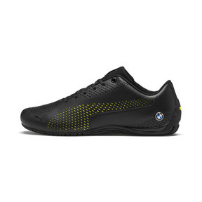 Thumbnail 1 of BMW M Motorsport Drift Cat Ultra 5 II Shoes, Puma Black-Fizzy Yellow, medium