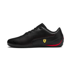 Thumbnail 1 of Ferrari Drift Cat 5 Ultra II Trainers, Puma Black-Rosso Corsa, medium