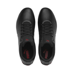 Thumbnail 6 of Ferrari Drift Cat 5 Ultra II Trainers, Puma Black-Rosso Corsa, medium
