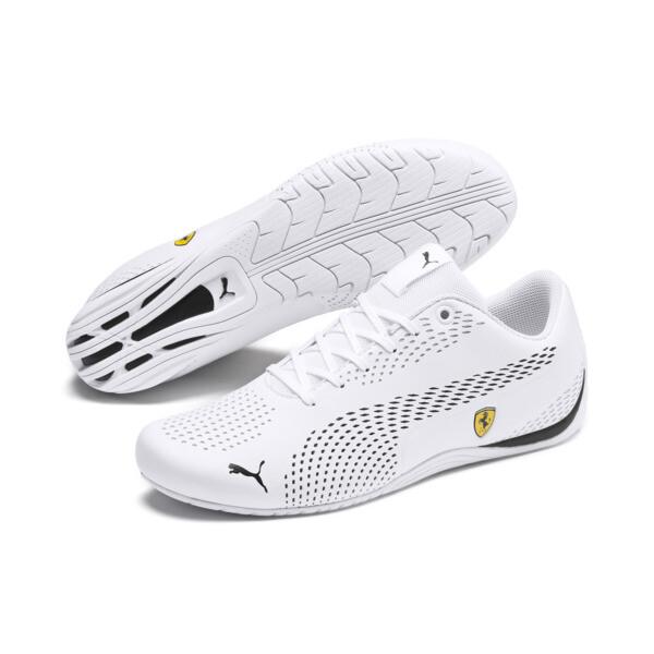 Scuderia Ferrari Drift Cat 5 Ultra II Men's Shoes, Puma White-Puma Black, large