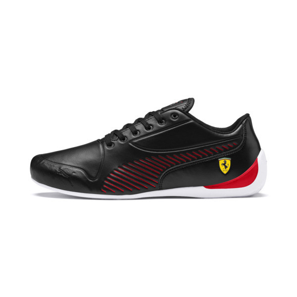 Scuderia Ferrari Drift Cat 7S Ultra Men's Shoes, Puma Black-Rosso Corsa, large