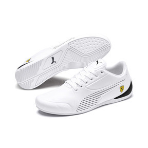 Thumbnail 2 of Scuderia Ferrari Drift Cat 7S Ultra Men's Shoes, Puma White-Puma Black, medium