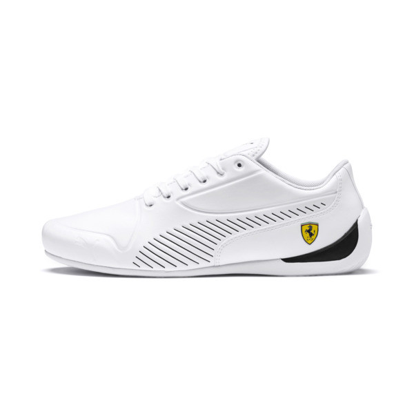 Scuderia Ferrari Drift Cat 7S Ultra Men's Shoes, Puma White-Puma Black, large