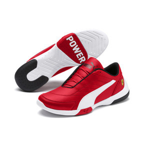 Thumbnail 2 of Ferrari Kart Cat III Youth Trainers, Rosso Corsa-Puma White, medium