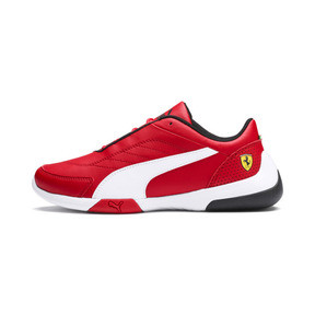 Thumbnail 1 of Ferrari Kart Cat III Youth Trainers, Rosso Corsa-Puma White, medium