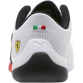 Thumbnail 4 of Scuderia Ferrari Kart Cat III Shoes JR, Puma White-Puma Black, medium